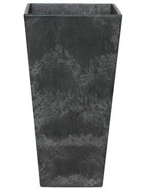 Artstone - Ella vase schwarz hoch