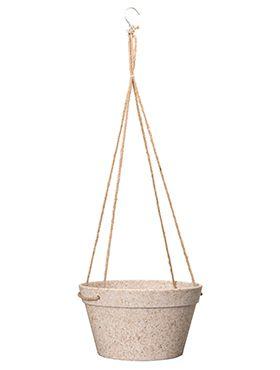 Fibrics Bamboo - Hanging basket sand