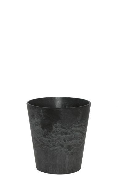 Artstone zwarte pot claire 13