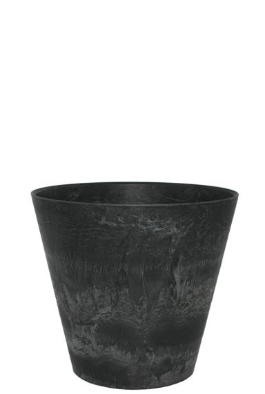 Artstone claire topf schwarz