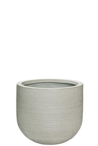 Cement fiberstone bloempot
