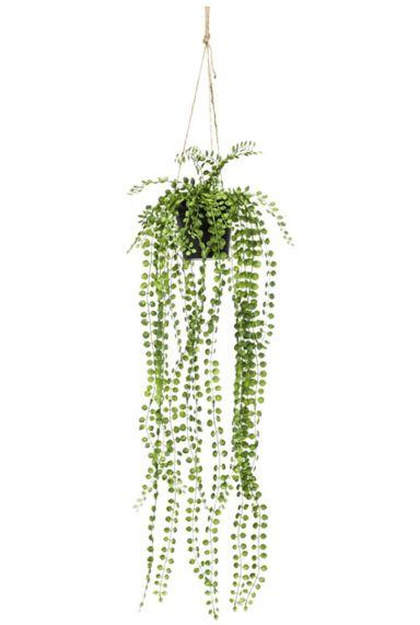 Ficus pumila hangplant kunstplant