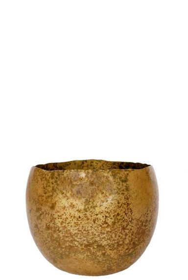 Ter Steege Ellen Bras - S blumentopf gold metall