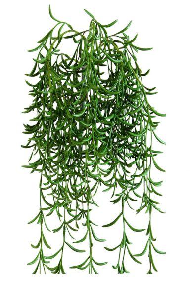 Groene hangplant kunstplant klein