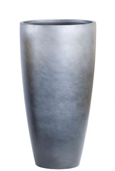 Baq Gradient Partner matt grey Vase hoch