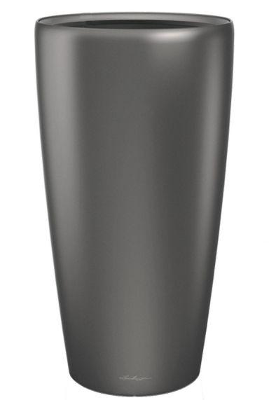 Grote lechuza vaas pot grijs