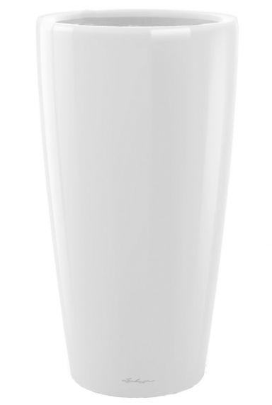 Grote lechuza vaas pot wit