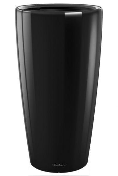 Grote lechuza vaas pot zwart