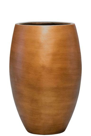 Hoge capi retro gouden vaas
