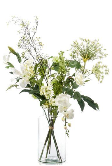 Kunstbloem boeket bloemen