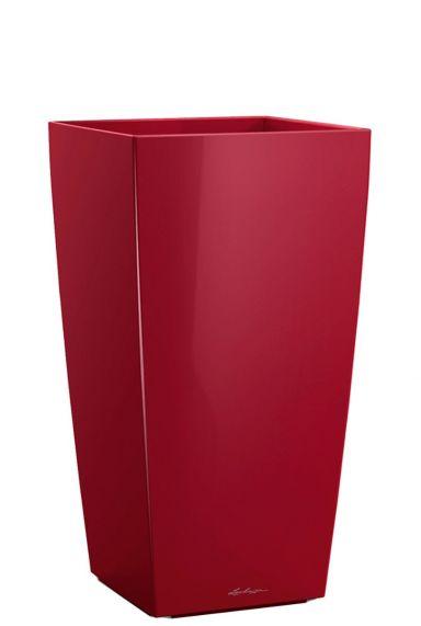 Lechuza hoge pot rood