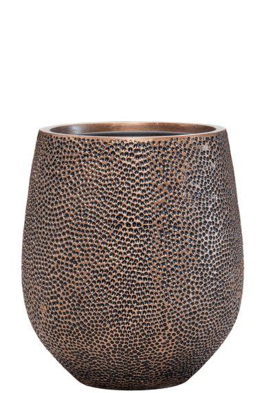 Luxe goudkleurige pot
