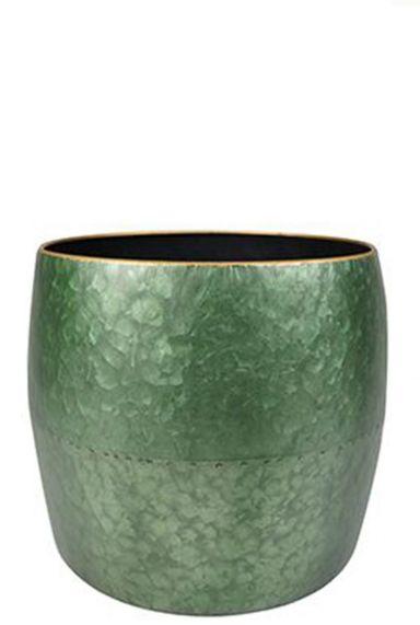Ter Steege Dani Green - L topf metall grün