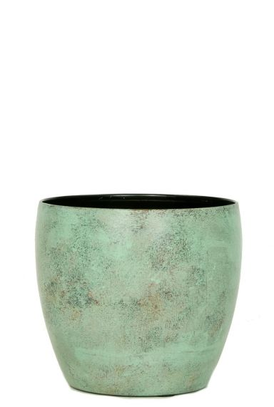 Ter Steege Kyan grün Kupferr - M Blumentopf