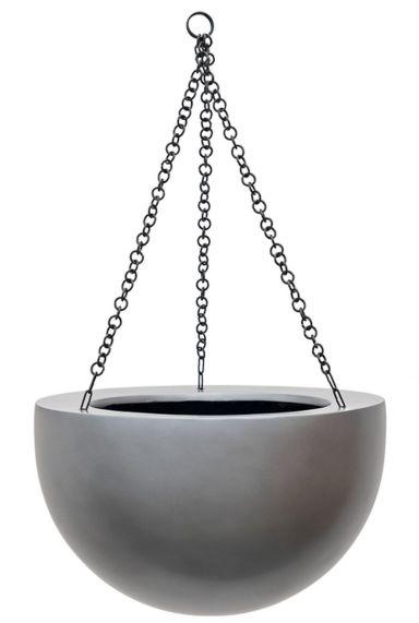 Baq Gradient bowl matt grey - Hänger bowl matt silber