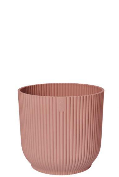 Roze plantenbakken elho