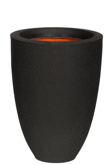 Vaas capi zwart smooth
