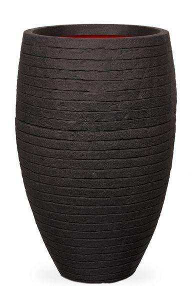 Capi Nature Row NL vase schwarz hoch