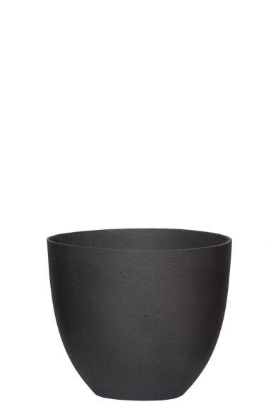 Zwarte pot voor planten