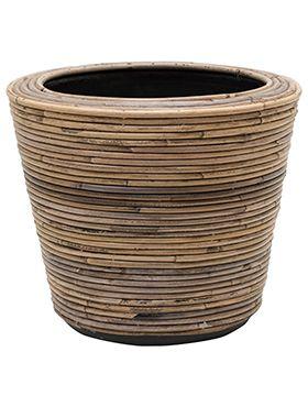 Drypot Rattan Stripe